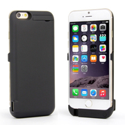 RUIBO 移动电源 苹果iPhone6 Plus背夹电池大容量充电宝专用 磨砂黑8200毫安 5.5寸