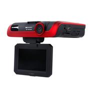 星凯越 XT700 行车记录仪电子狗一体机 1080P高清广角夜视 流动固定雷达测速 标配+8G卡