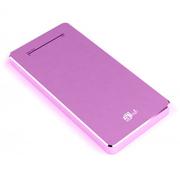 aMagic 纤薄移动电源6000毫安充电宝iPhone6plus/5S通用 粉色