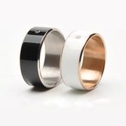 歌蓝 智能戒指魔戒II代智能穿戴设备NFC情侣对戒指环安卓手机 琉璃黑 11号