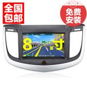 杰航(Jiehang) 雪佛兰科鲁兹爱唯欧新赛欧3迈锐宝 雪佛兰景程 新景程 8英寸 专用车载DVD导航仪一体机