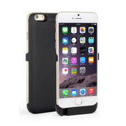 RUIBO iPhone6背夹电池 苹果6移动电源 备用充电宝手机壳 适用于iphone6 磨砂黑