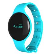 台硕 W190 智能手环腕表 3D计步 睡眠检测 浅蓝色