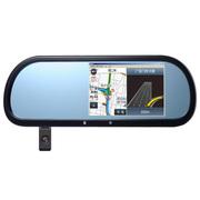 新科 A8多功能智能后视镜导航仪行车记录仪一体机5英寸大屏高德地图蓝牙通话