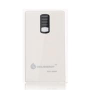 给力源 DLE-6600毫安移动电源手机充电宝双USB输出带手电筒 白色