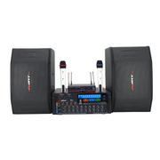 AVARTNET HY-AV系列音响套装(UHF无线麦克风/可录音调音功放/十寸专业音箱) 配AWA533功放