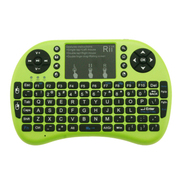 其他 美国Rii mini i8  迷你无线键盘 全键盘 2.4G无线连接 无线套装 绿色 2.4G无线