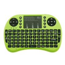 其他 美国Rii mini i8  迷你无线键盘 全键盘 2.4G无线连接 无线套装 绿色 2.4G无线产品图片主图