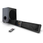 现代 蓝牙音箱 音响 家庭影院低音炮超薄回音壁 环绕立体声扬声器 平板电视音箱可挂墙 SR-3100