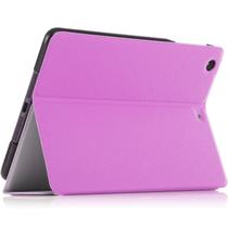 文逸(wenyi) WY iPad mini3/2/1保护套 ipad mini通用保护套 智能休眠唤醒保护壳 玫红色 磨砂荔枝纹产品图片主图
