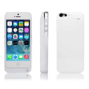 RUIBO 苹果iPhone5背夹电池 5S移动电源 便携充电宝 手机壳 烤漆白