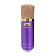 玛丝玛蔻 电脑网络K歌 电容麦克风 声卡录音设备套装话筒 升级版 紫色