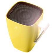美创 苹果iphone5S/6蓝牙水杯音响创意咖啡杯小音箱 黄色