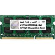 宇帷 笔电系列 DDR3 1600 8GB 笔记本内存(AVD3S16001108G-1SW)