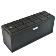 魅动e族 MD-3016蓝牙音响 立体声蓝牙音箱 带NFC自动配对4.0蓝牙音箱 低音炮 巧克力色
