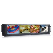 瑞鸽 Ruige/TLS480HD-4 四联高清机架监视器 HD-SDI 超高清机柜监视器