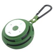 apphome 无线蓝牙插卡音箱重低音音响  适用于苹果小米三星华为荣耀6魅族安卓通用 绿色