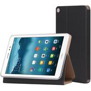 索士 华为荣耀S8-701U/W保护套8寸皮套平板电脑超薄外壳T1-821w 黑色