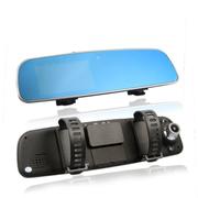 奥赛克 4.3寸170度高清超广角行车记录仪 循环录影不漏秒 支持重力感应 一键开启夜视 防眩晕蓝镜款