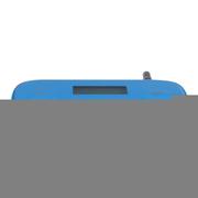欧利得(olide) fm发射器  苹果iPhone5S 安卓三星 华为手机FM发射器 音乐调频发射器 蓝色
