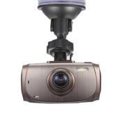 奥赛克 2.7寸170度高清高解析超广角行车记录仪 循环录影不漏秒 支持停车监控 咖啡色