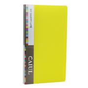 彩友乐 拍立得mini3寸相片册 相册 72枚入相册 果冻色 黄色