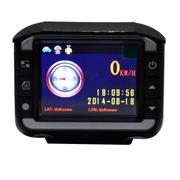 东影 DM812行车记录仪电子狗一体机 雷达测速安全预警仪 套餐一(8G tf卡)