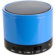 友多闻 UDN7威武小钢炮无线蓝牙音箱 插卡便携户外音响 收音机 蓝色