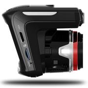 吉斯卡 行车记录仪电子狗三合一一体机  1080P高清广角夜视 流动固定雷达测速 标配无卡