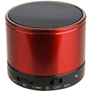 友多闻 UDN7威武小钢炮无线蓝牙音箱 插卡便携户外音响 收音机 红色