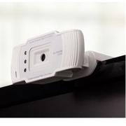 谷客 摄像头 带麦克风话筒  HD90白色