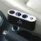 俊达 车用车载点烟器一分三一拖三充电器扩展转换插座带USB 电源 功能小件 V-B01产品图片2