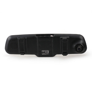 爱酷巴 行车记录仪高清广角1080P后视镜行车记录仪双镜头行车记录仪 单镜头1200W带净化器
