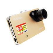 总监 T95土豪金超薄行车记录仪高清1080P超广角170度停车监控 标配+32G