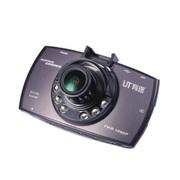 有途 UT-A8行车记录仪 170° 广角 高清1080P 红外夜视王 黑色 官方标配+16G TF卡