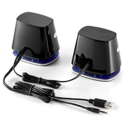 SANWA SUPPLY 山业SANWA 400-SP018 2.1声道多媒体音箱 电脑音箱 迷你低音炮 USB供电