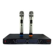 xinchang 麦克风电脑k歌专用无线话筒双手麦KTV舞台无线电容麦克风 校园广播