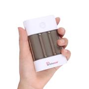 叛逆者(panizhe) 移动电源通用手机充电宝7200毫安强光电筒 蓝色 官方标配