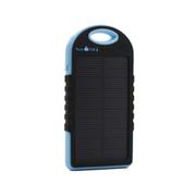 云度 趣玩 运动防水太阳能移动电源 送男友 蓝色