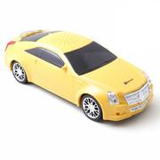达客 汽车模型音响 低音炮立体声无线蓝牙音箱儿童 黄色