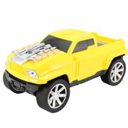 达客 迷你悍马车模跑车音箱 便携式插卡低音炮电脑音响 黄色