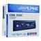 其他 新款阿尔派CDE-150C 主机 音质好 2组功放带USB MP3车载CD机 下单有礼产品图片3