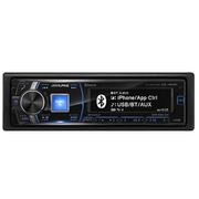 其他 阿尔派CDE-148CBT 3组功放 CD主机MP3 蓝牙机头车载电话 支持方向盘控制