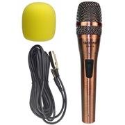 先科 GB-628 有线话筒麦克风  电脑K歌话筒 动圈式卡拉OK家用会议k歌专用话筒 麦克风电脑k歌专用