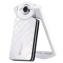 卡西欧 EX- TR500 自拍美颜神器数码相机 白色单机版产品图片主图