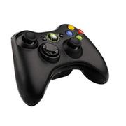 旌翔(Kinghan) PC电脑游戏手柄 带震动 完美支持XBOX360 XBOX360无线手柄Slim 黑色 仅游戏手柄
