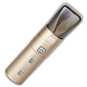 萌生 萌声手机麦克风电脑K歌适用于苹果iPhone6/三星/小米唱吧麦克风话筒 土豪金