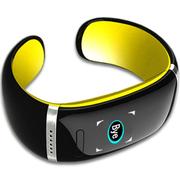 喜木 手环 智能蓝牙手表 电容触摸屏智能通话运动手环手镯 IOS/安卓系统通用智能穿戴 活力黄