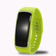 喜木 手环智能 穿戴运动计步器 睡眠监测远程拍摄手表 IOS/安卓系统监控防盗蓝牙腕带 绿色