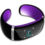 喜木 手环 智能蓝牙手表 电容触摸屏智能通话运动手环手镯 IOS/安卓系统通用智能穿戴 魅惑紫